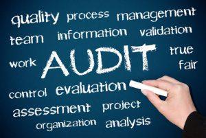 Audit requirements, blackboard of audit factors