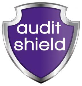 Audit Shield logo for accountancy insurance