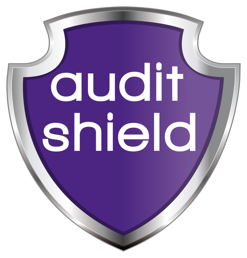 Audit Shield logo for accountancy insurance