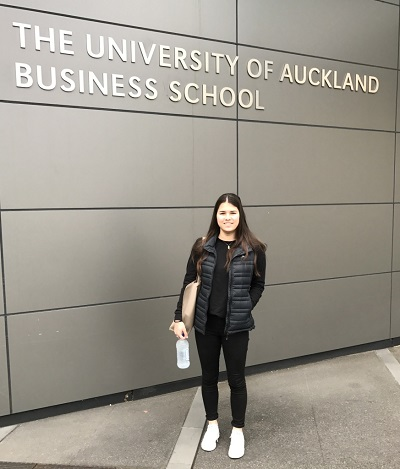 UHY Haines Norton Study Scholarship Winner 2016 Reagan Davis at Auckland University