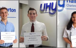UHY Haines Norton Study Scholarship Winners 2017
