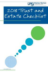 trust & estate checklist