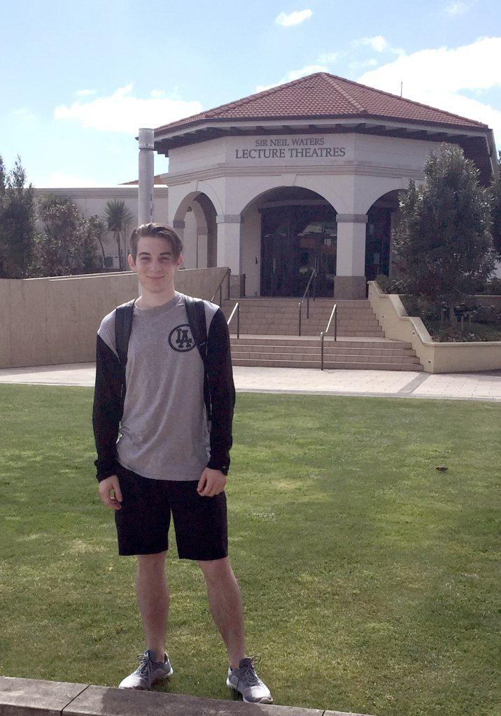 2017 UHY Haines Norton Study Scholarship Winners Ben Marmont