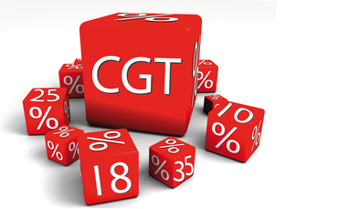 Capital Gains Tax picture of dice
