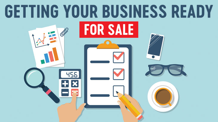 Getting your business ready for sale picture