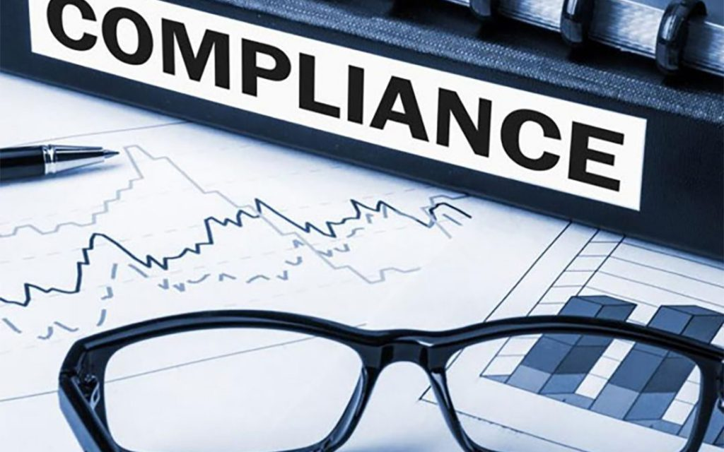 Future of IRD Investigations, compliance folder with glasses and graph