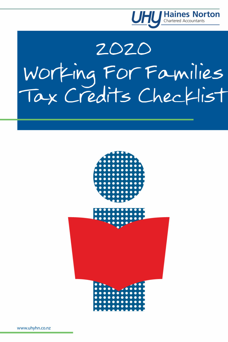 UHY Haines Norton 2020 Working For Families Tax Credits Checklist